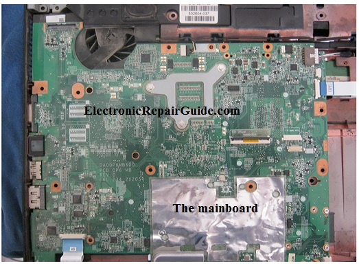 compaq laptop mainboard