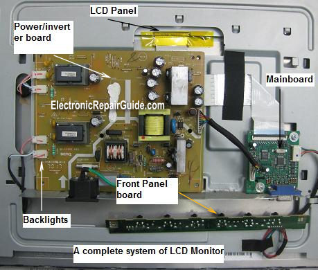 lcd monitor system