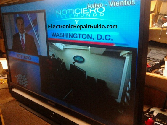 dlp tv repair and troubleshooting