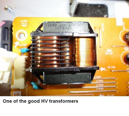 lcd television high voltage transformer