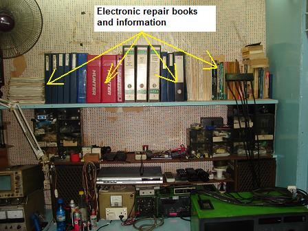 electronic repair books