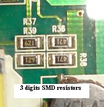 smd resistor codes
